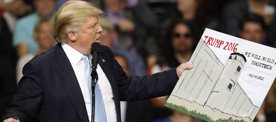 Olv�dense del muro de Trump: en M�xico lo importante es el TLCAN