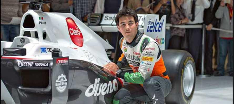 """Checo"" P�rez espera resolver su futuro en Force India la pr�xima semana"