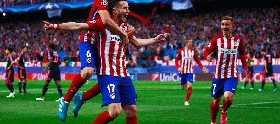 Atl�tico de Madrid y Barcelona ganan en Liga Campeones; Cavani marca doblete para PSG