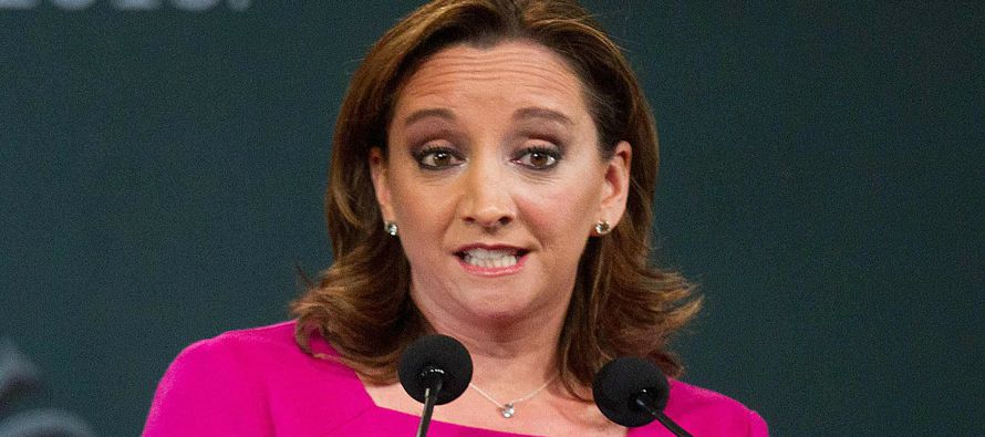 La canciller mexicana, Claudia Ruiz Massieu, rechazó las declaraciones del candidato republicano a...