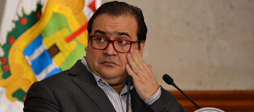 El Gobierno confirma orden de aprehensi�n en contra de Javier Duarte