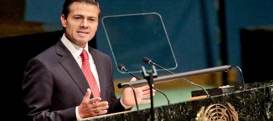 Las promesas de Pe�a Nieto sobre refugiados