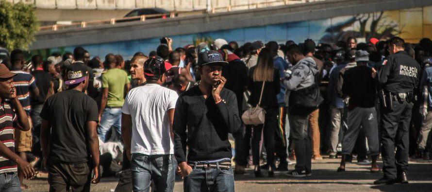 Crisis migratoria deja a haitianos expuestos al crimen en la frontera entre M�xico y EU
