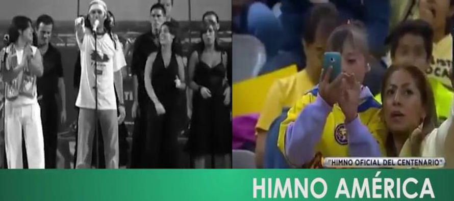 El Am�rica retira el himno de su centenario tras las cr�ticas de plagio al Sevilla