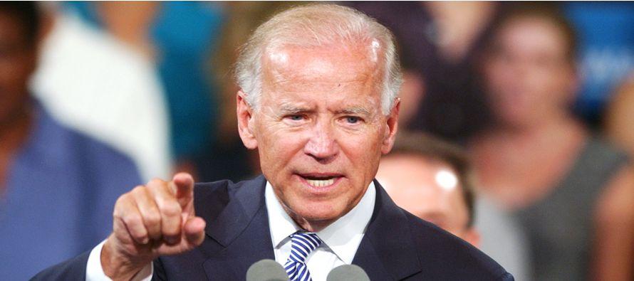 """Biden advierte contra la """"pesadilla"""" que ser�a una Presidencia de Trump"""