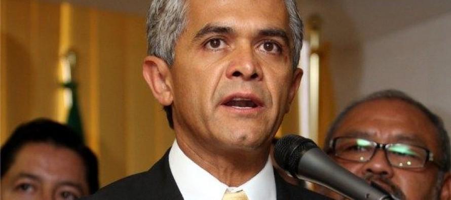 Si se para la capital por recorte presupuestario, se para M�xico: Mancera
