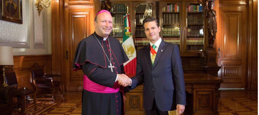 Nuncio apost�lico pide v�a mexicana en debate sobre matrimonio homosexual