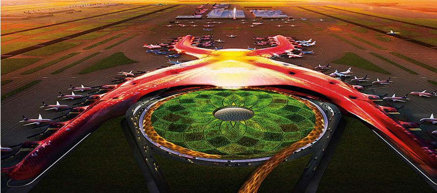 Gobierno mexicano presenta avances en la construcci�n de nuevo aeropuerto