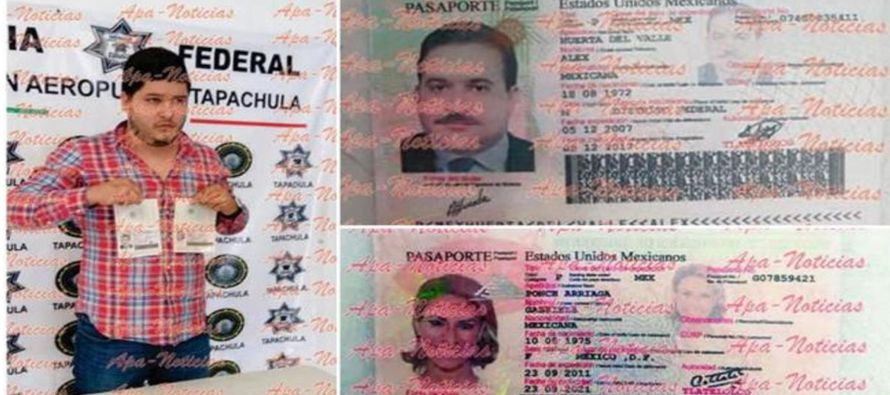 Según el diario mexicano Excélsior, Medina Garzón reconoció que iba a entregar los pasaportes a...