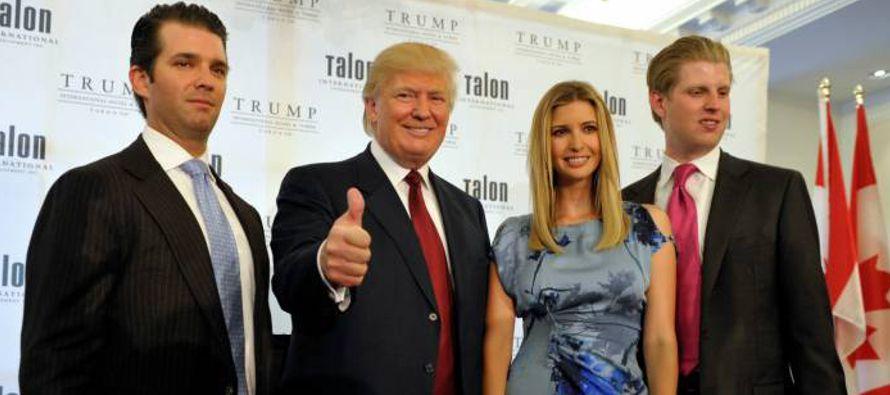Pero ahora se aprestan a ser los hijos presidenciales más influyentes en décadas, debido a que los...