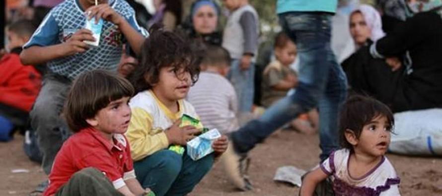 La agencia recuerda que muchos de los niños son presos y retenidos en centros de detención, una...