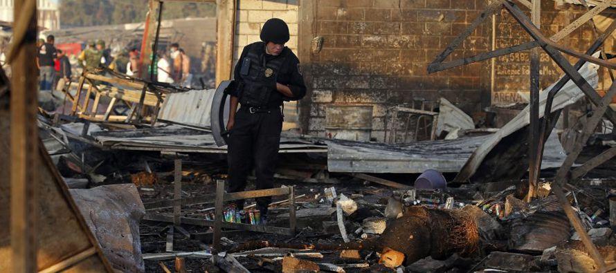 Los medios mexicanos han denunciado la recurrencia de los accidentes por fuegos artificiales en el...