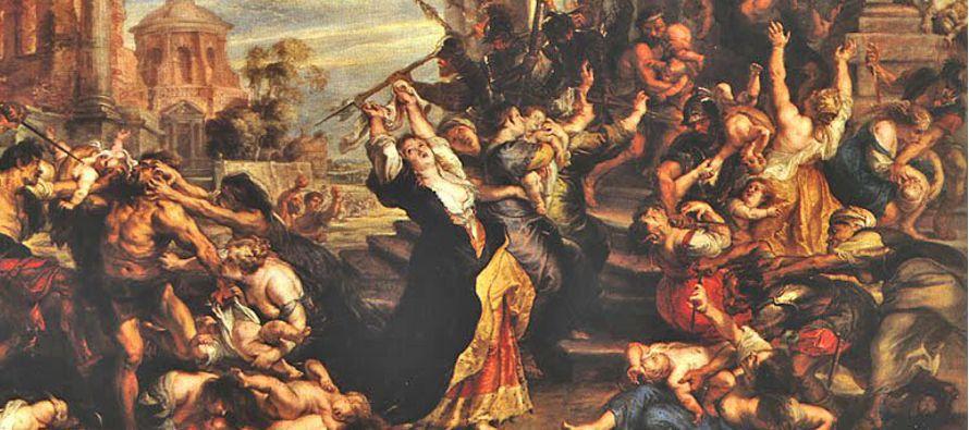 En la narración de la fuga de la Sagrada Familia para Egipto, tres versículos (Mt 2,16-18)...