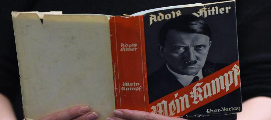 Las autoridades bávaras vetaron durante setenta años la reedición del libro ante el temor de que se...