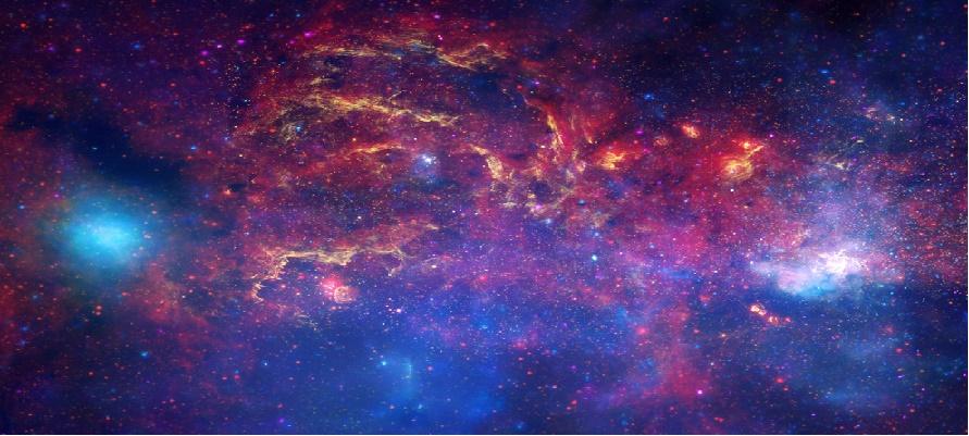 Los investigadores recopilaron imágenes de la galaxia, que solo se puede observar con facilidad...
