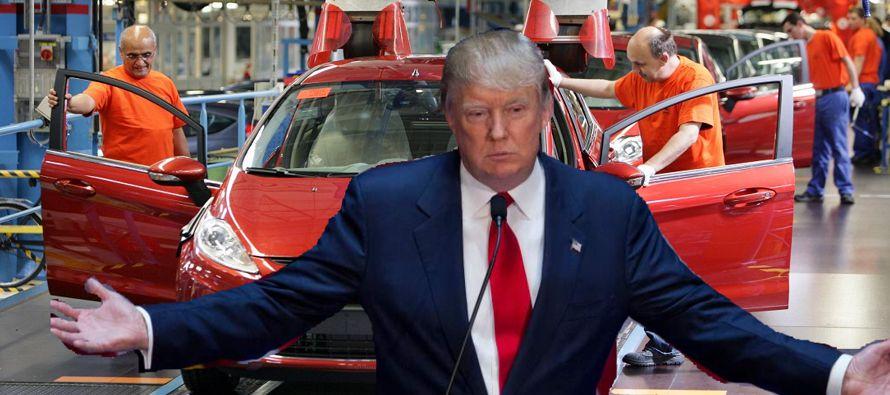Ford contemplaba fabricar su modelo Focus, un auto pequeño, en la nueva planta mexicana. En lugar...