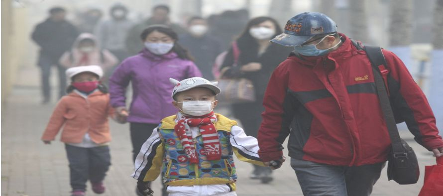 Varias decenas de ciudades del centro y norte de China sufren estos días niveles de partículas...