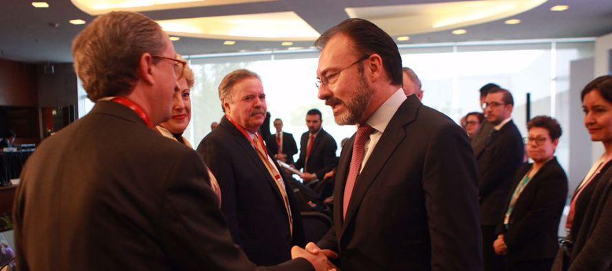 El embajador de México en Canadá, Agustín García López, resaltó que la relación con ese país...