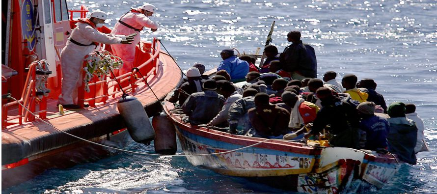 La ruta del Mediterráneo fue por tercer año consecutivo el trayecto más letal del mundo para los...