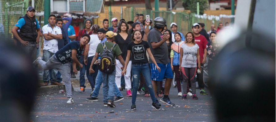 Hasta ahora la mayor protesta se ha registrado en Monterrey, capital del norteño estado de Nuevo...