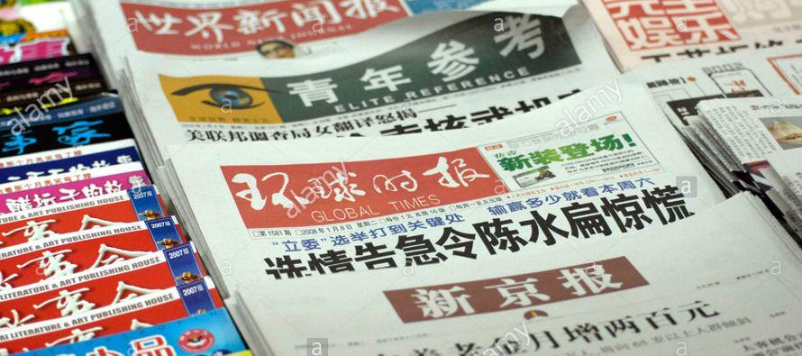 El diario oficial Global Times, de corte nacionalista, señala hoy que ni las autoridades ni las...