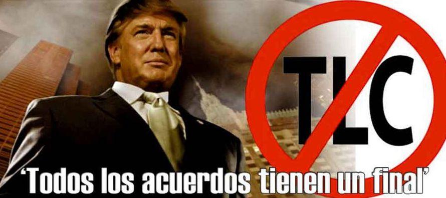 Trump cuestionó las virtudes del TLCAN como uno de los puntos centrales de su campaña; en un...