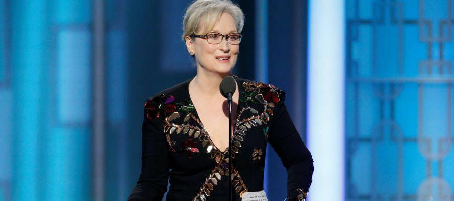 La tres veces ganadora del Oscar se refería a un momento del 2015 durante un mitin en Carolina del...