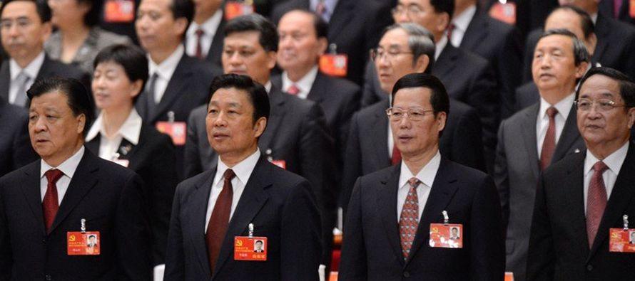 El presidente chino, Xi Jinping, también secretario general del Partido Comunista, participó el...