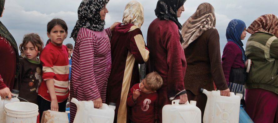 La agencia de noticias oficial siria, SANA, informó de que unidades castrenses, ayudadas por grupos...