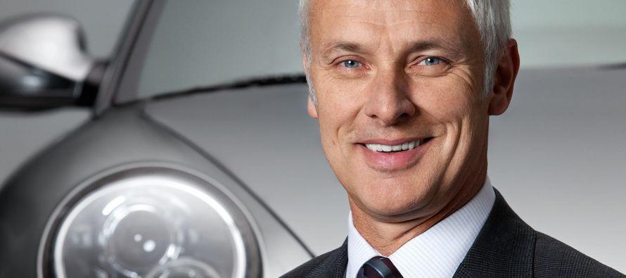 Müller destacó que 2016 fue un año muy desafiante para Volkswagen, en el que el grupo avanzó en...