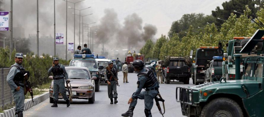 Los ataques se produjeron en torno a las 16.00 hora local (11.30 GMT) en el área de Dar-ul-Aman, al...