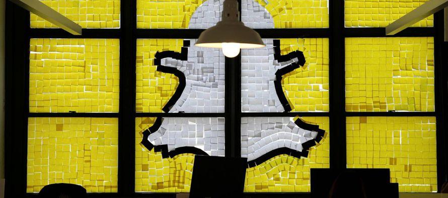 La aplicación de mensajería Snapchat dijo que fijará en Londres la sede de sus operaciones...
