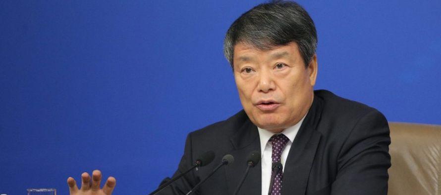 El responsable del departamento de planificación económica chino explicó que el año pasado la...