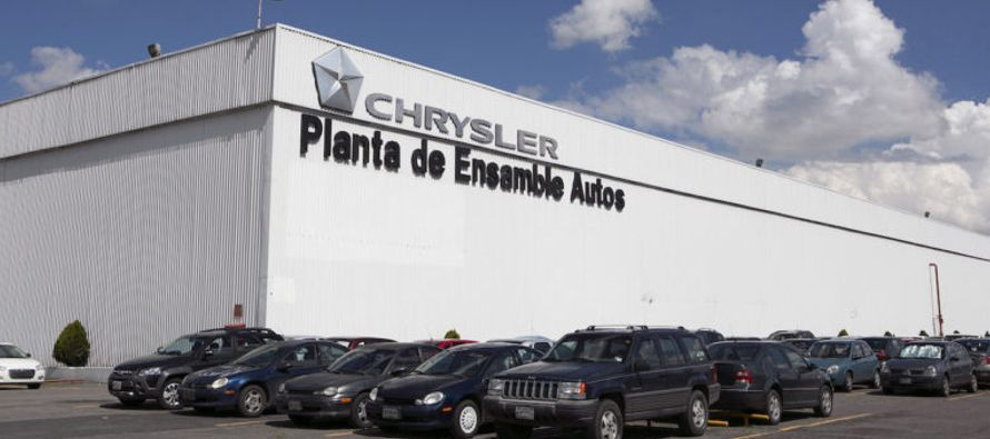 """Finalmente está ocurriendo: Fiat Chrysler acaba de anunciar planes para invertir 1,000..."