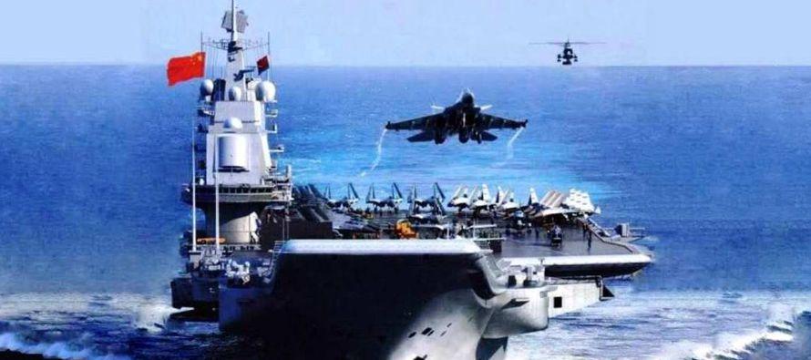 A primeros de enero, Estados Unidos envió al mar del Sur de China el portaaviones Carl Wilson, que...