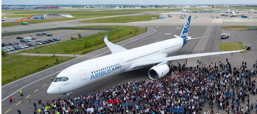 Por su parte, la verdadera piedra en el zapato de Airbus en términos comerciales es su avión...