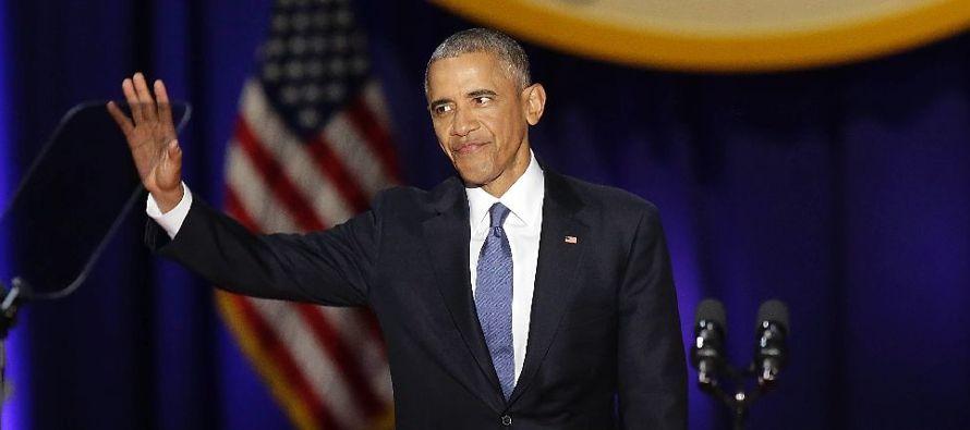 Tampoco tuvo el discurso de Obama muchas alusiones a la política exterior, aunque el presidente...