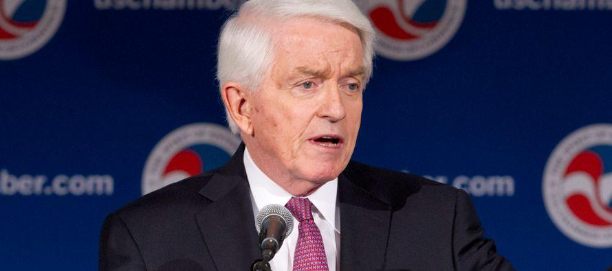 El presidente de la principal asociación empresarial de EE.UU. comentaba así las recientes amenazas...