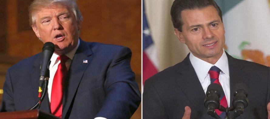 En un encuentro con cónsules y embajadores en el Palacio Nacional de la capital mexicana, el mandatario recordó que en los primeros meses del año 2016 México acumuló más de 24.000 millones de dólares en la recepción del remesas.