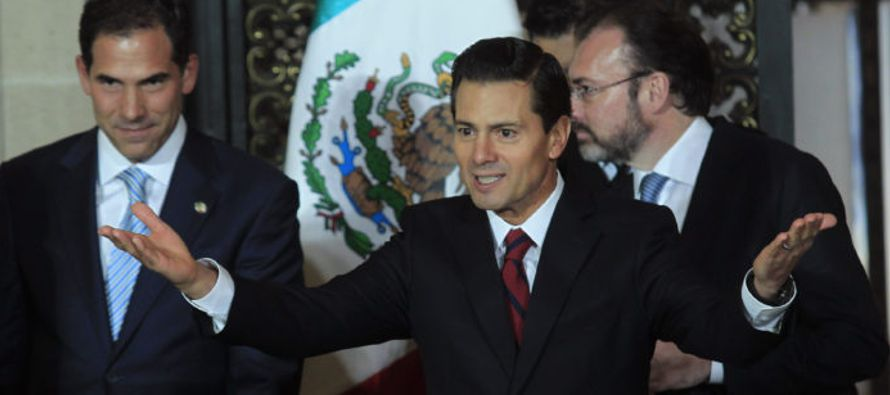 """""""Vamos a defender las inversiones nacionales y extranjeras en México"""", a fin de que..."""