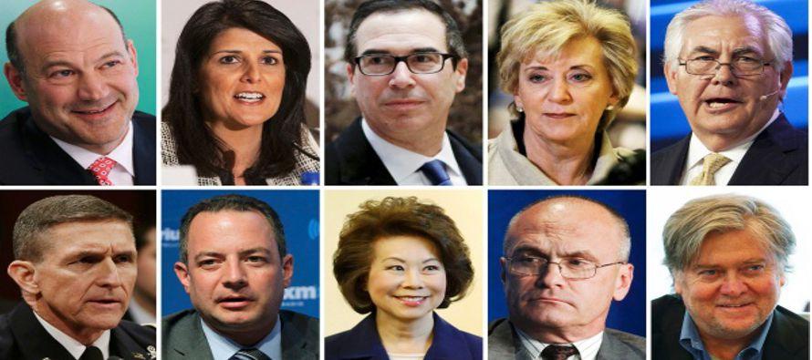 l nominado secretario del Tesoro, Steven Mnuchin, ha sido por mucho tiempo ejecutivo de Goldman...