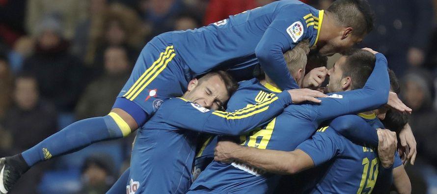 Real Madrid cae ante el Celta en la Copa del Rey