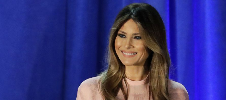 Melania Trump se convierte en un distintivo comercial en su Eslovenia natal