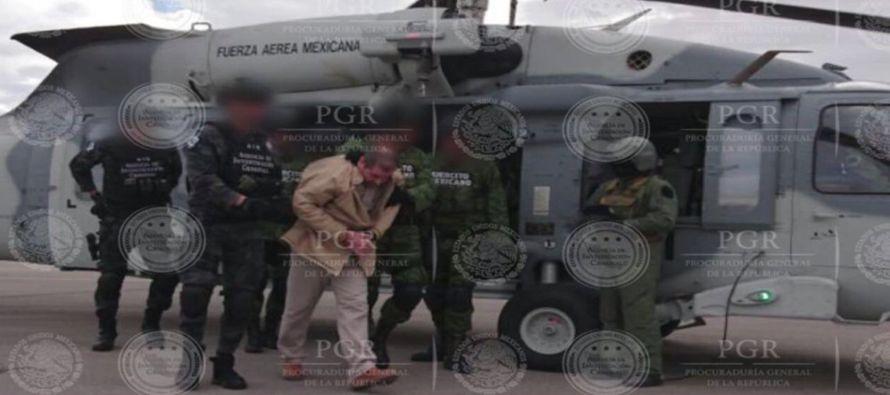México extradita al Chapo Guzmán a EU en último día del Gobierno de Obama