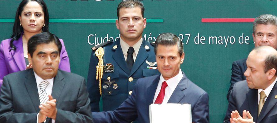 """""""Las reformas anticorrupción y la primera etapa de implementación del Sistema Nacional..."""