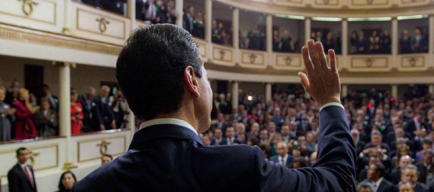 Peña Nieto apeló a la unidad desde las elecciones de noviembre en Estados Unidos, pero intensificó...