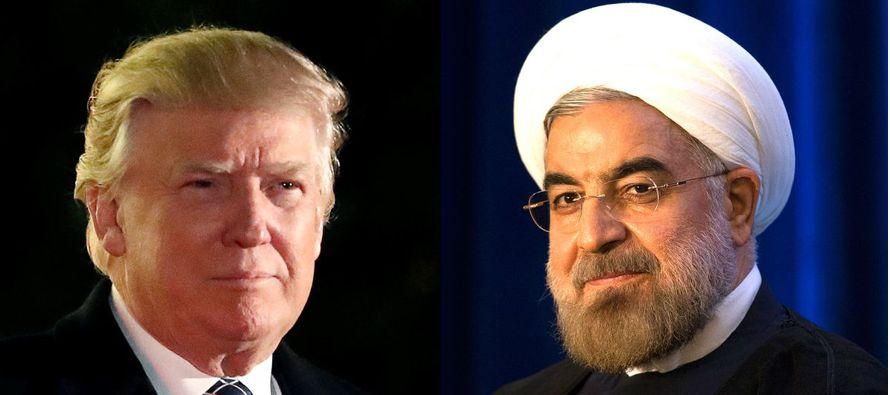 """""""Ahora, con Trump en el cargo, los líderes del ala dura de Irán pueden dormir tranquilos..."""