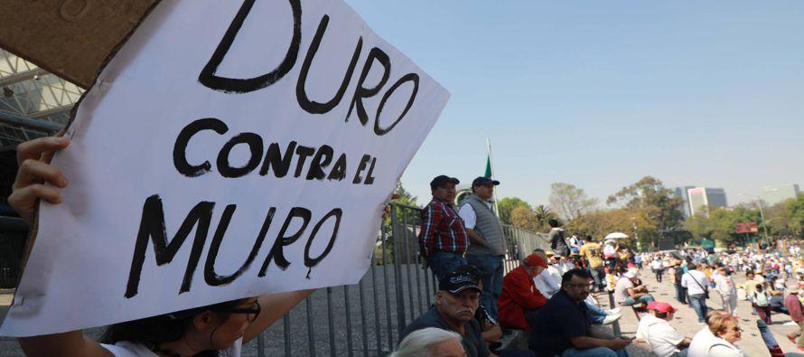 """La marcha """"en defensa de la dignidad, la unidad y la soberanía del pueblo mexicano"""" tendrá un único..."""