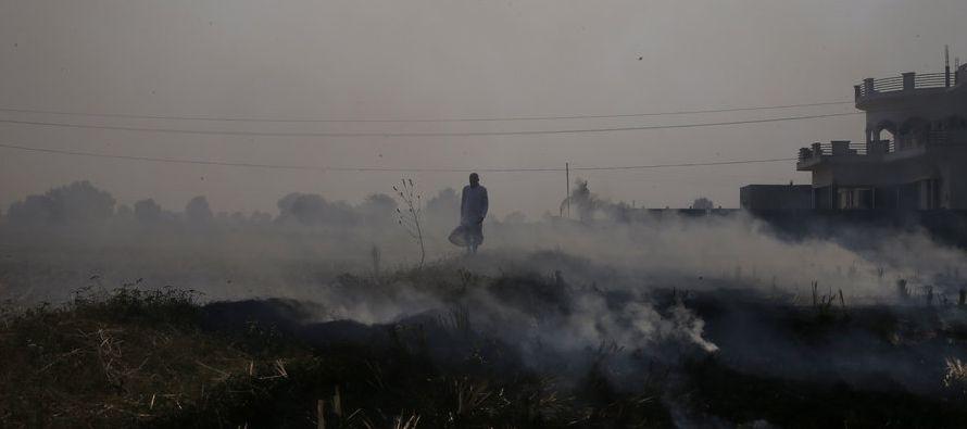 A nivel mundial, las muertes causadas por contaminación aumentaron a 4,2 millones en 2015, en...