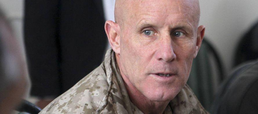 Harward, un experimentado militar de la Armada conocedor de Oriente Próximo, explicó a la agencia...
